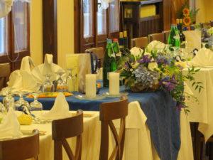 sala da pranzo matrimoni e cerimonie