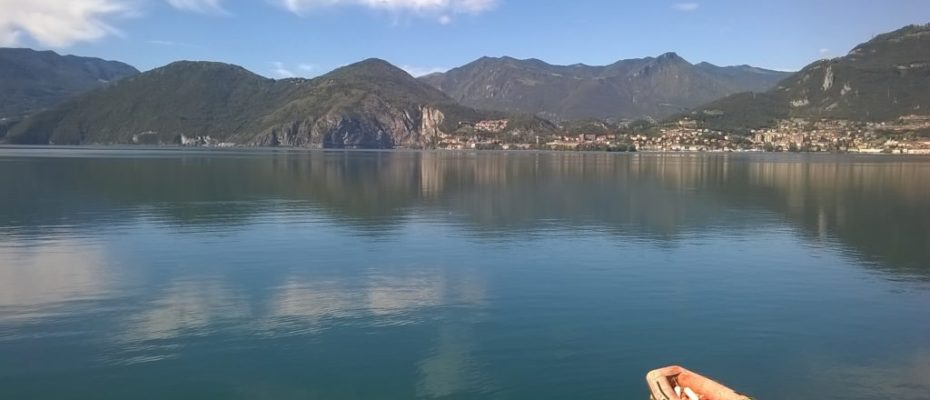 View of Lovere Iseo Lake
