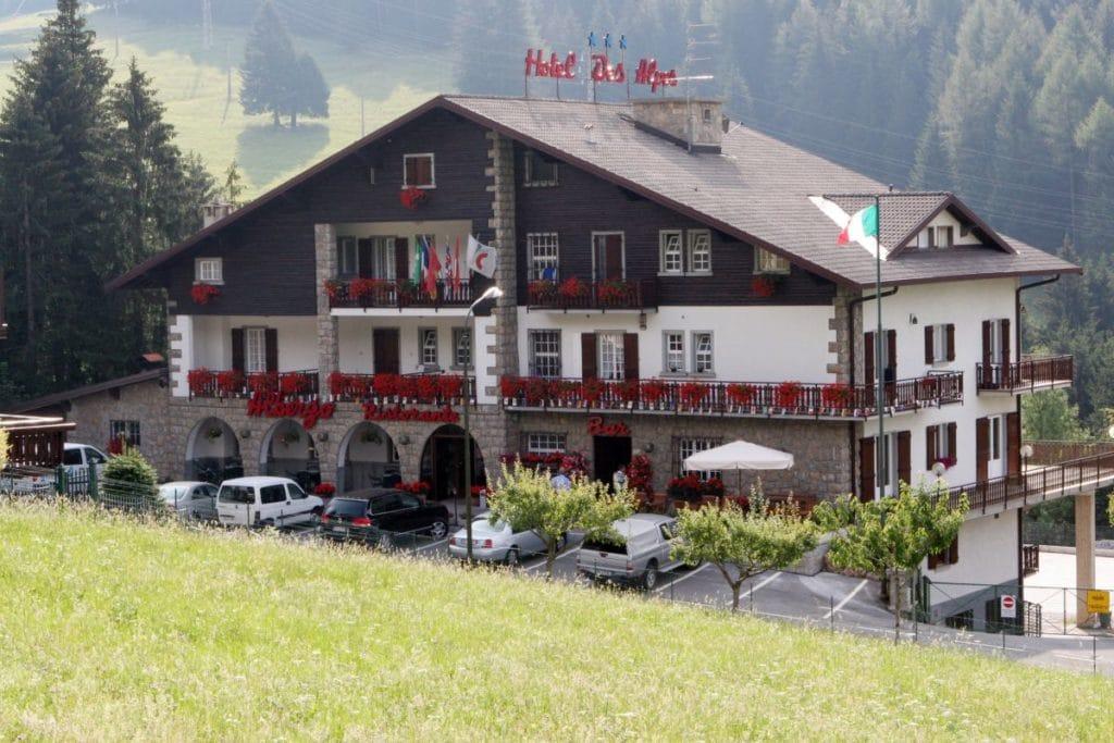 hotel Des Alpes Presolana esterno