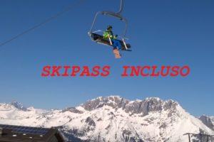 Hotel skipass quasi gratis Hotel Des Alpes Presolana